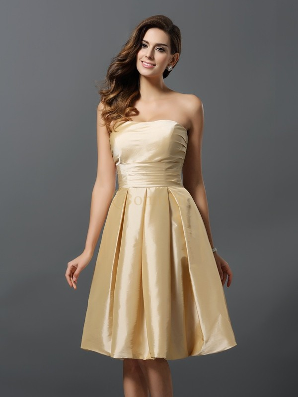 Knee Length Bridesmaid Dresses