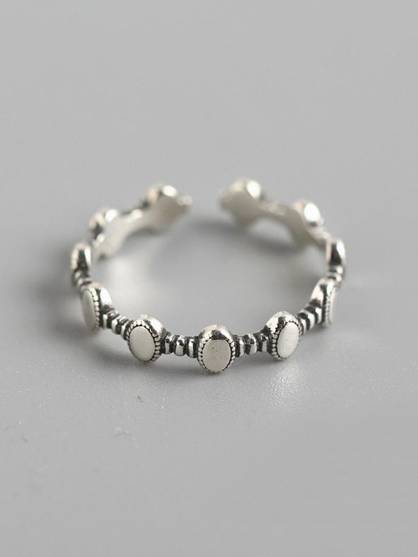 Fashion 925 Sterling Silver Hot Sale Adjustable Rings