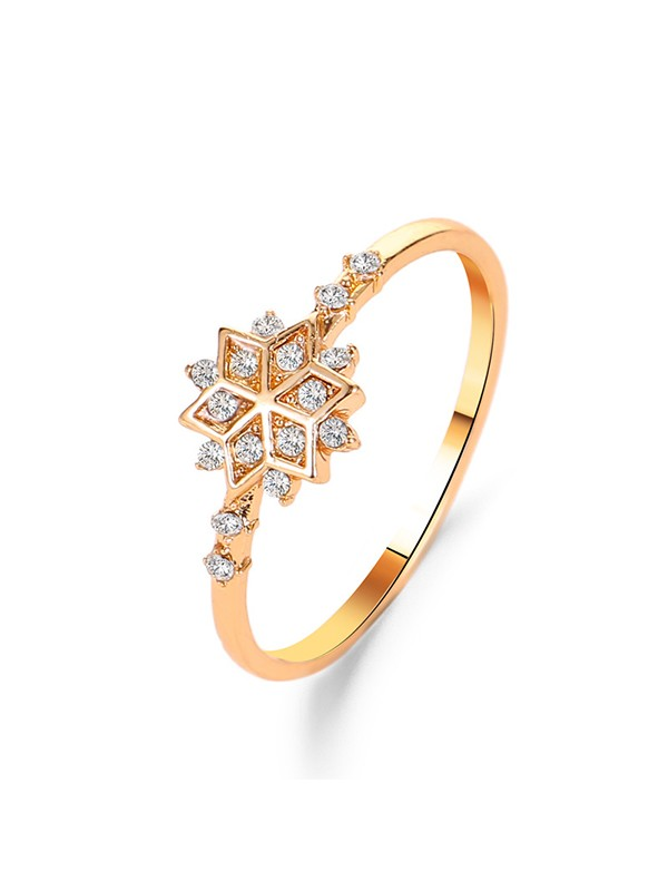 Fashion Copper With Zircon Hot Sale Rings
